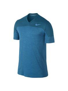The Nike Dri-FIT Knit V-Neck Men's Training Shirt.
