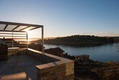 SALTVERKSVEIEN view from terrace