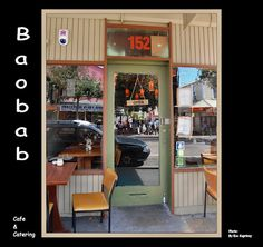 Baobab Cafe, Newtown, Wellington, New Zealand - music plays in the courtyard out the back - a gem
