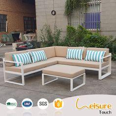 Modern aluminium outdoor garden sofa set swimming pool leisure coffee shop