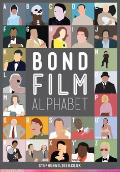 Bond Film Alphabet