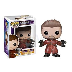 FUNKO VINYL POP! GUARDIANS OF THE GALAXY STAR LORD 52 AMAZON EXCLUSIVE VARIANT /item# G4W8B-48Q40798 @ niftywarehouse.com