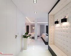 Aranżacje wnętrz - Hol / Przedpokój: czarno- biały apartament 125m2 - Duży hol / przedpokój, styl minimalistyczny - bm2 brzostek maciej. Przeglądaj, dodawaj i zapisuj najlepsze zdjęcia, pomysły i inspiracje designerskie. W bazie mamy już prawie milion fotografii!
