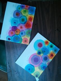 Studio Kids - Children's Art Classes in Ballard, Seattle: Summer Camp Seattle skyline collage: tissue paper circles for fireworks in sky Kindergarten Art, Preschool Art, Middle School Art, Art School, Studio Kids, Tissue Paper Art, 2nd Grade Art, Ecole Art, School Art Projects