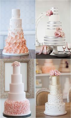Wedding Cake Inspiration - Bobbette & Belle