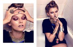 glass-book.com Glass Book, Editorial Fashion, Chokers, Bathtub, Magazine, Ring, Google Search, My Style, Beauty