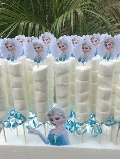 Disney Frozen Elsa Marshmallow Favors  -