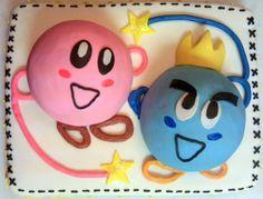 Kirby's Epic Yarn Birthday Cake