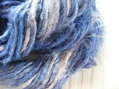 Banana Viscose Vegan Silk Yarn Chunky Light Purple by MandalaYarn, £5.25