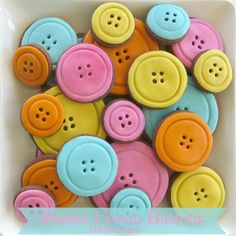 The Partiologist: Button, Button! Perfect for Lalaloopsy party
