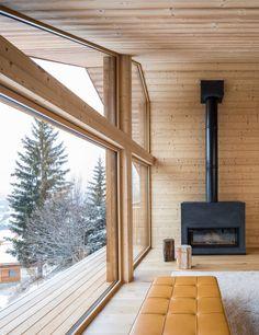 Mountain House Modern Home in Manigod, Auvergne-Rhône-Alpes, France… on Dwell