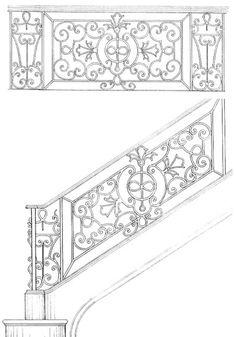 Stair Railing Designs ISR071