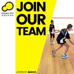 Become a Double Dot Squash Ambassador, Coach, or Athlete. Join our team! - Please get in touch for further details on joining our team - info@doubledotsquash.com - #doubledotsquash #squash #brownsbayracquetsclub #hernebayracketsclub #brownsbay #hernebay #squashauckland #squashnz #squashnewzealand #squashcoaching #squashcoach #juniorsquash #psaworldtour #lovesquash #squashcourt #squashies #squashplayer #squashgoals #squashlife #squashing #squashlife #squashaddict #squashing #juniorsquash Double Dot, Join Our Team, Athletes, Squash, Coaching, How To Become, Dots, Touch, Club