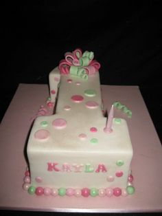 First Birthday Cakes - * number one