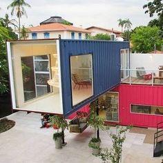 """1,240 Me gusta, 23 comentarios - Casa Container (@containerhousebr) en Instagram: """"#casacontainer #container #containerhouse #containerhome #decoracao #arquitetura #arch…"""""""