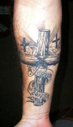 57 Cross Tattoos Ideas For Men