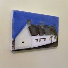 john clare's cottage oil painting by greenacre art | notonthehighstreet.com