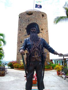 Blackbeard's castle St. Thomas. What you can't see in this pic is the amazing ocean view just behind