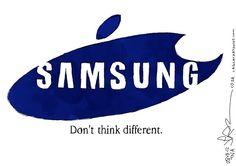 Júri condena Samsung a pagar US$ 1 bilhão à Apple por plágio