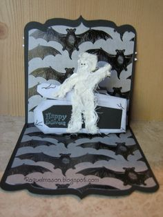Raquel's Stampin' Blog: Pop N Cut Halloween.....yes again.