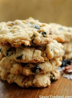 Cookie Recipes on Pinterest | Best oatmeal, Chocolate chip cookies ...