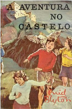 Enid Blyton vintage book cover