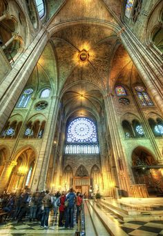 I got this shot right before the Catholic Notre Dame police told me to take down the tripod. So I had to be fast… fast like the withdrawal method.  - Paris, France  - Photo from #treyratcliff Trey Ratcliff at http://www.StuckInCustoms.com