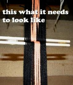 Backstrap Weaving  Projects, tutorials, South American culture and more……….. Tutorial- Starting out in Backstrap Weaving: Steps to Success