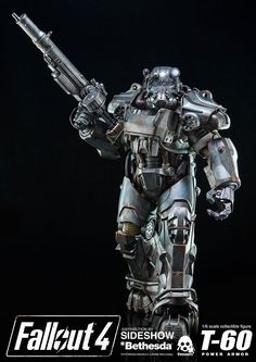 Fallout 4 Power Armor T-60 1/6 Scale Figure by ThreeZero