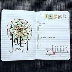 encore une idée originale comment décorer son planner avec de jolis dessins, agenda scolaire personnalisé