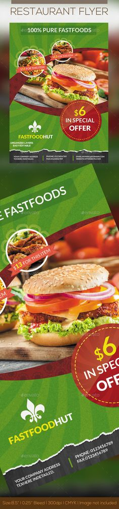 #Foods Flyer - Restaurant Flyers Download here: https://graphicriver.net/item/foods-flyer/10641291?ref=classicdesignp
