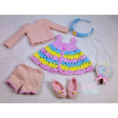 Sold Out!! Yosd / littlefee outfit  any inquiry please BBM or LINE me ☺️ #crochet #instacrochet #crochetfordolls #dolloutfit #dollaccessory #bjd #yosd #handmade #rorrucrochet