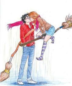 Ich finde Harry und Ginny sind soooo ein süßes Paar...