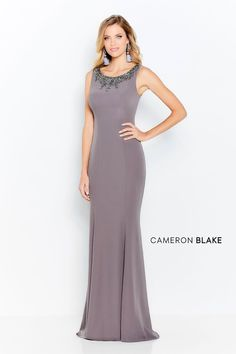Cmeron Blake by Mon Cheria - 120621 Embellished Scoop Trumpet Dress Source by shopCOUTURECANDY dresses fashion classy Mothers Dresses, Bride Dresses, Wedding Dresses, Gown Wedding, Lace Wedding, Cameron Blake, Trumpet Dress, Aisle Style, Mother Of The Bride Gown