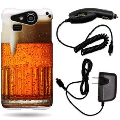 CoverON® Kyocera Hydro Elite Hard Plastic Slim Case Bundle with Black Micro USB Home Charger & Car Charger - Beer Mug CoverON http://www.amazon.com/dp/B00GXKMYZA/ref=cm_sw_r_pi_dp_vaI5tb1DPA4M0