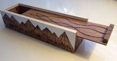 Hey, I found this really awesome Etsy listing at https://www.etsy.com/listing/199732753/wooden-box-with-woodburned-mountain
