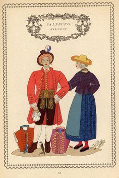 Tirol 52 Salzburg, Austria, Folk Costume, Vintage Costumes, Folklore, Switzerland, Germany, Baseball Cards, Regional