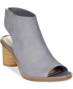 Clarks Somerset Women's Glacier Charm Peep-Toe Booties, $100 | 21 Very Necessary Pairs Of Open-Toed Booties For Spring