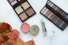 Elf haul: Contour palette, Eyeshadow palette, Beautifully bare cream blush, and gotta glow lip tint. Reviews on the blog!
