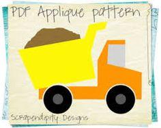 kids construction equipment pattern - Google Search