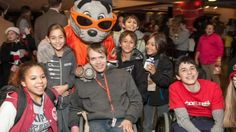 Junior Giants' Holiday Heroes celebration @ AT&T Park