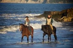 Boutique Horsetreks offers a choice of three different rides. Photo / Supplied WINE TASTING AND HORSE BACK RIDING!!