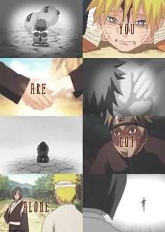 I understand your loneliness. tags: naruto gaara sora
