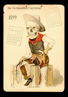 Antikamnia Chemical Company Calendars, 1899 / 1900 - Retronaut
