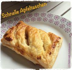 Fräulein Müller kocht : Schnelle Apfeltaschen