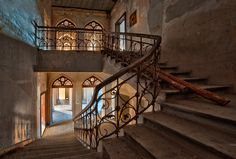 From inside an abandoned palace  (by ~APPELBOOM)