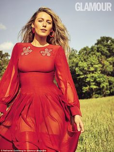 Secret to success: Blake Lively, 29, has revealed the secret to her marriage to Ryan Reyno...