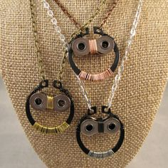 Happy Earth Day   upcycling - necklaces from bike parts DIY?