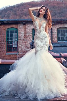 Galia Lahav #Bridal Spring 2016 #Wedding Dresses — Les Rêves Bohémiens Photo Shoot | Wedding Inspirasi Photo: Greg Swales #mermaid #weddings #weddinggown #fairytale #weddingdress