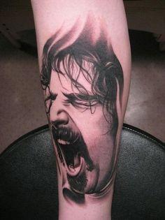 frank zappa tattoo - Google Search